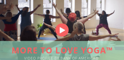 Plus Size Yoga from More to Love Yoga